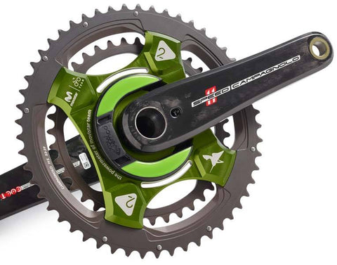 NG Campagnolo Movistar ed. Green with Cranks- 11-speed and 12-speed Chainrings Available