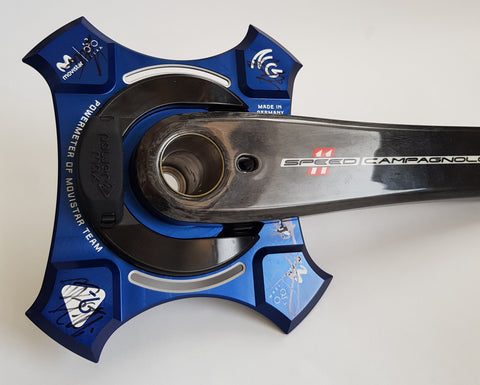 NG Campagnolo Movistar ed. Blue With Cranks- 11-speed and 12-speed Chainrings Available