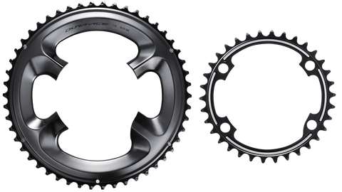 Shimano Dura Ace Installed Chain Ring Set R9100