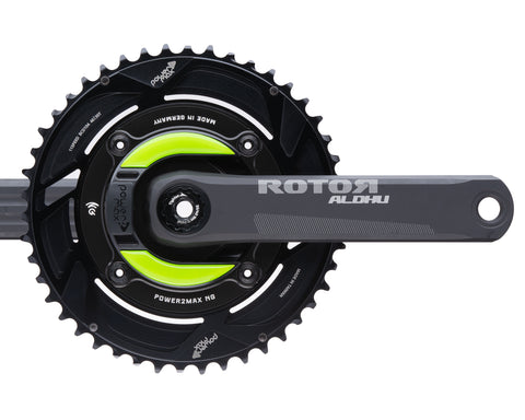 Gravel NG Rotor ALDHU 24mm w/ Cranks 2x Chainring Package