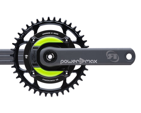 Gravel NG Rotor Power2Max ed. 24mm w/ Cranks 1x Chainring Package