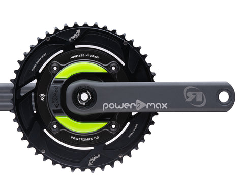 Gravel NG Rotor Power2Max ed. 24mm w/ Cranks 2x Chainring Package