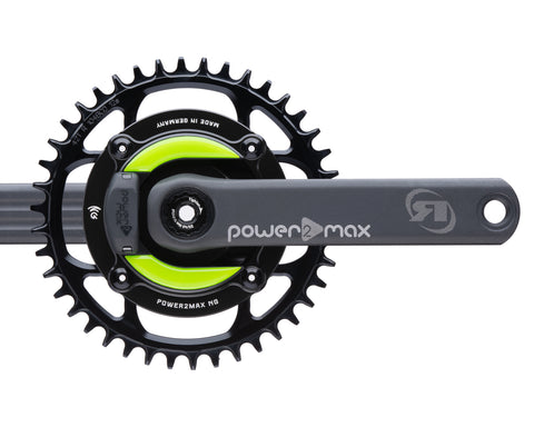 Gravel NGeco Rotor Power2Max ed. 24mm w/ Cranks 1x Chainring Package