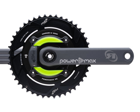 Gravel NGeco Rotor Power2Max ed. 24mm w/ Cranks 2x Chainring Package