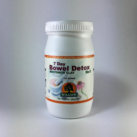 7 Day Bowel Detox Bentonite Clay