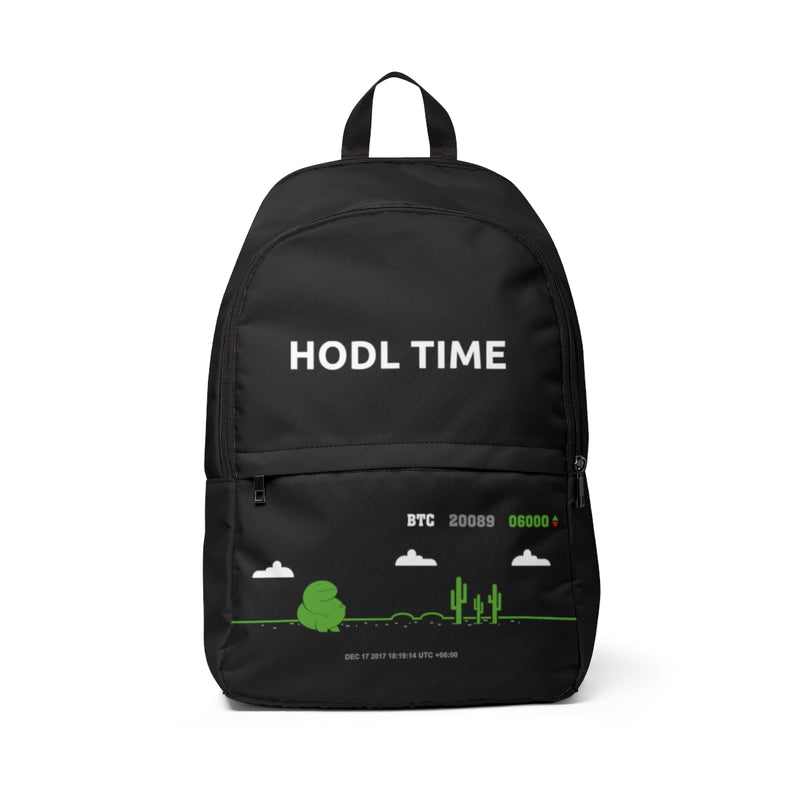 HODL TIME Unisex Backpack - When Lambo?
