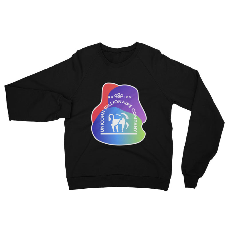 Unicorn Unisex Cotton Sweatshirt - When Lambo?