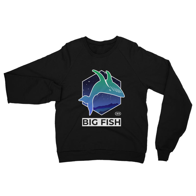 Big Fish Unisex Cotton Sweatshirt - When Lambo?