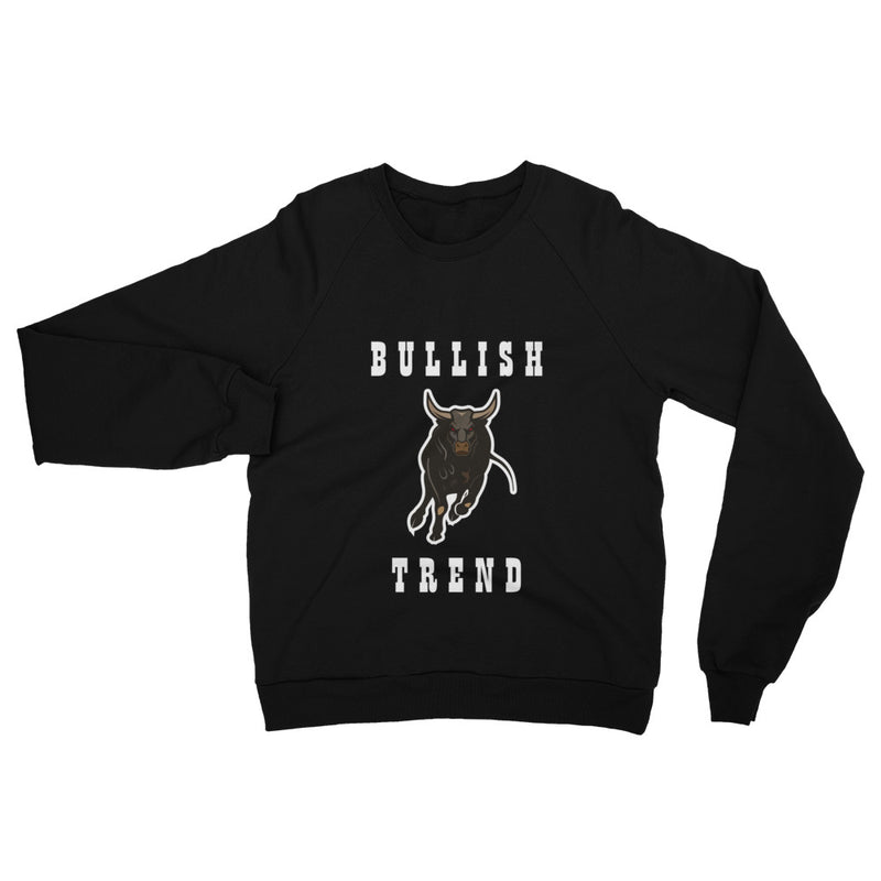 Bullish Trend Cotton Sweatshirt - When Lambo?