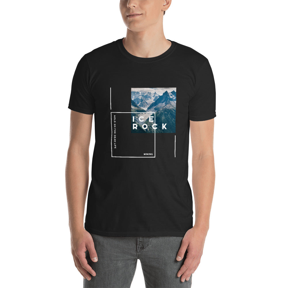 Ice Rock Mining HOLD Mountain Cotton T-shirt - When Lambo?