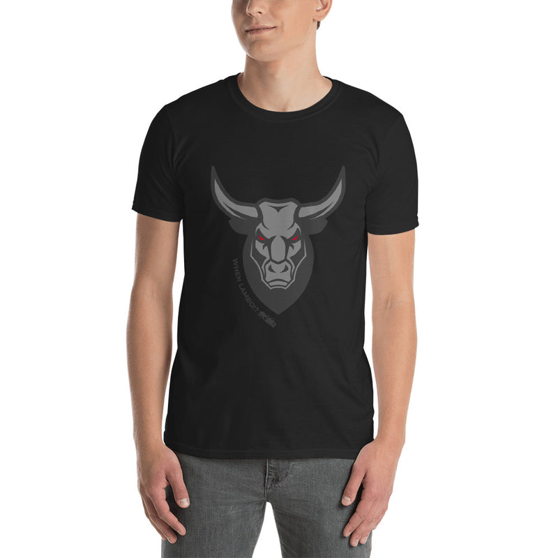 Big Bullish When Lambo Cotton T-shirt - When Lambo?