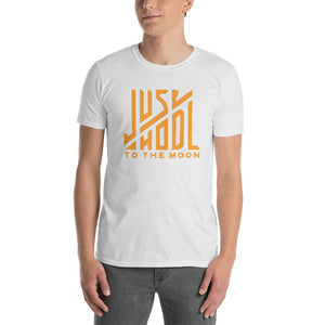 Just Hodl Cotton T-shirt - When Lambo?