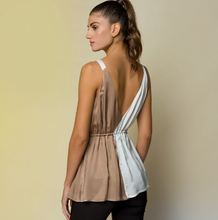 Load image into Gallery viewer, Satin 2Tone Cami