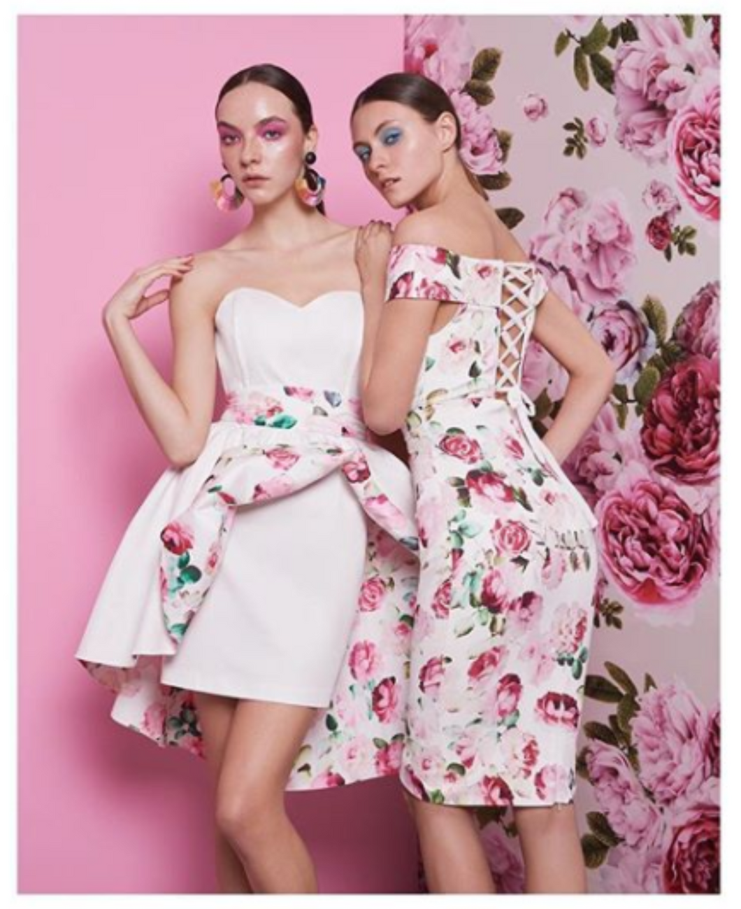 Boobtube Floral Dress
