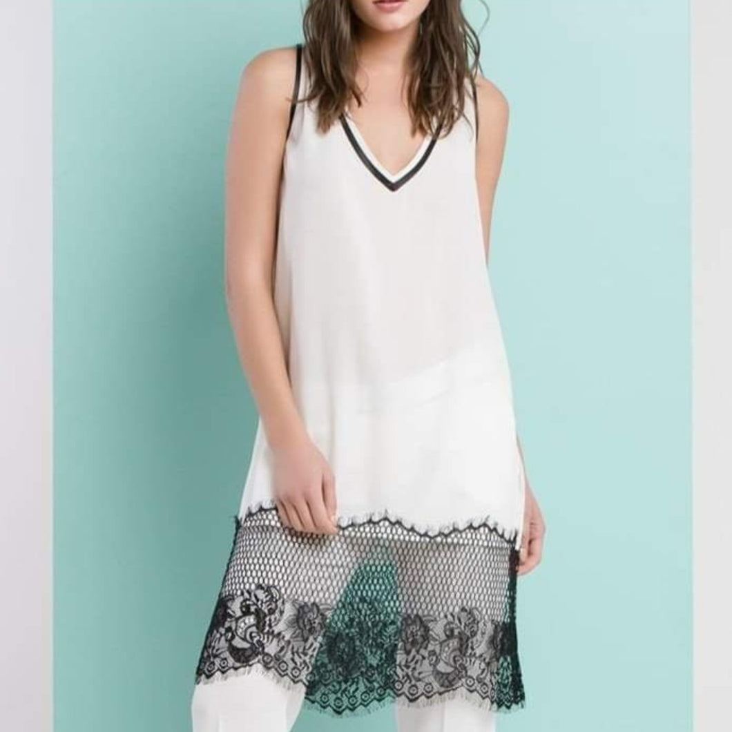 Athleisure Lace Top