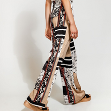 Load image into Gallery viewer, Wide Patchwork Pants