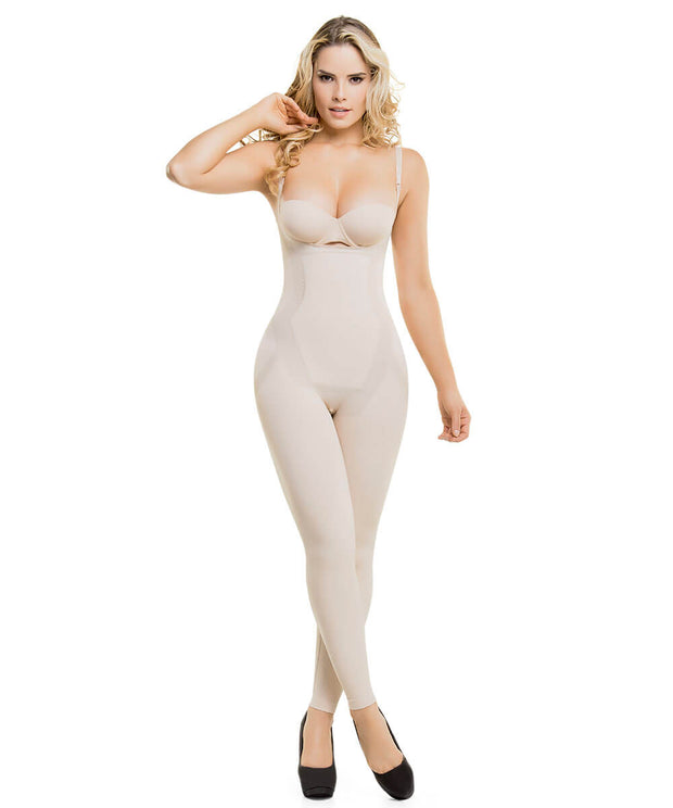 ca57cd5ed40 CYSM-1586 - Seamless Targeted Compression Slimming Thermal Bodysuit