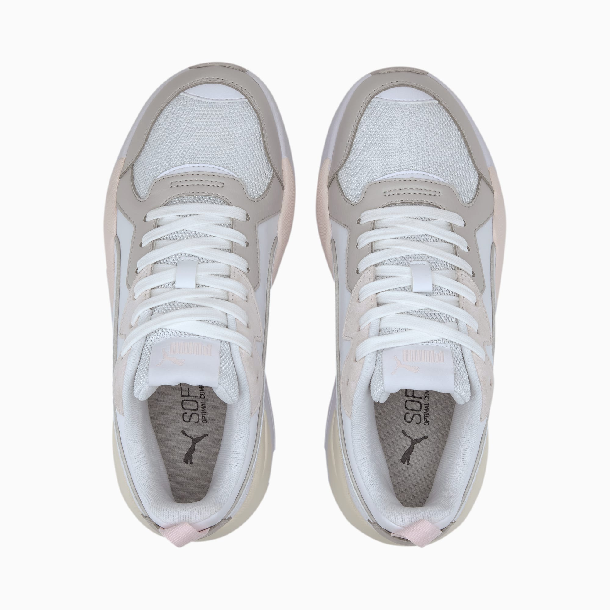 PUMA X-RAY GAME BLANCO/ROSA/AMA