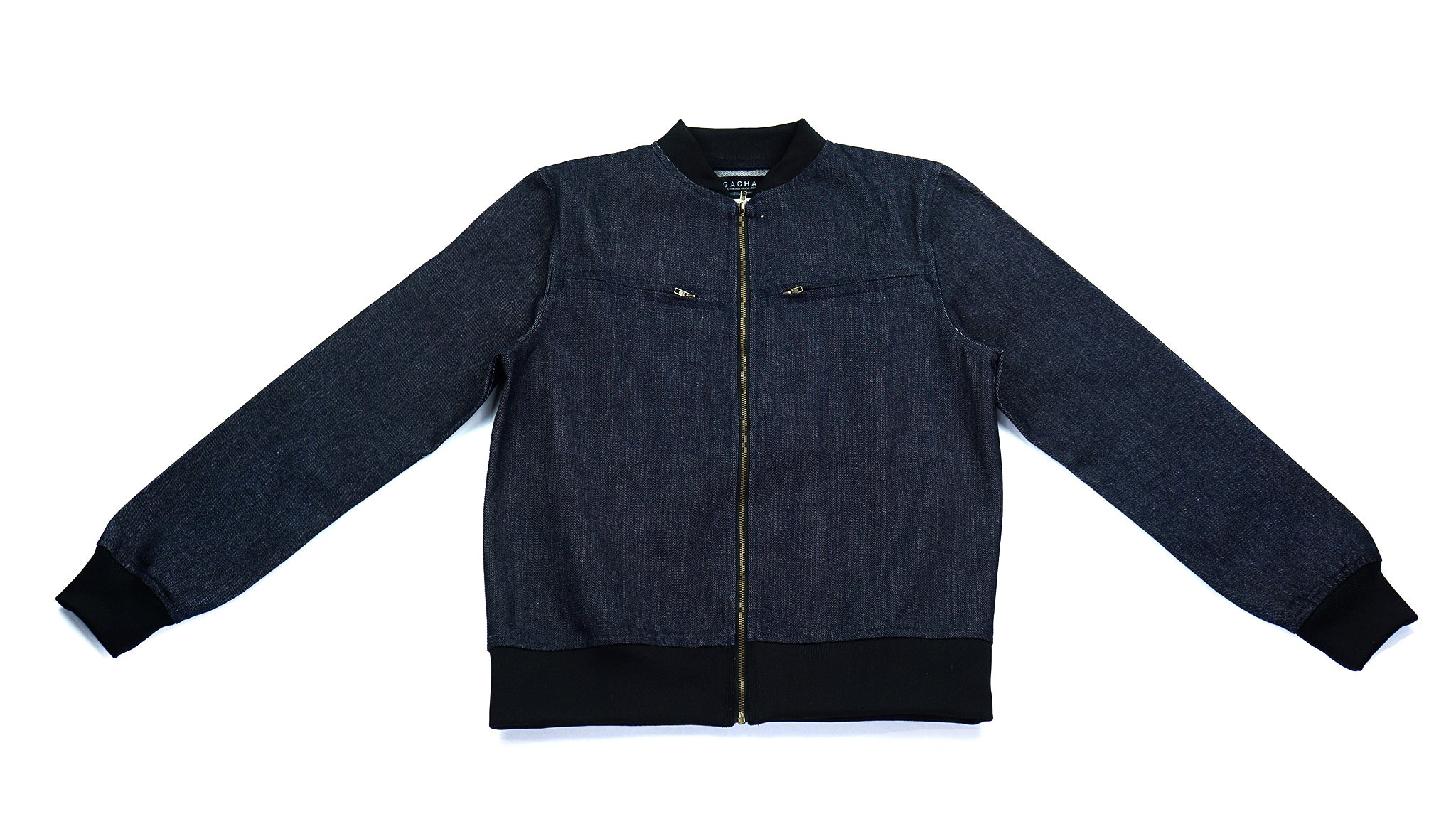 BeachTowns Denim Bomber