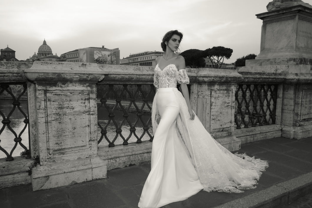 Sample 1108 Valentina Julie Vino Rome Collection