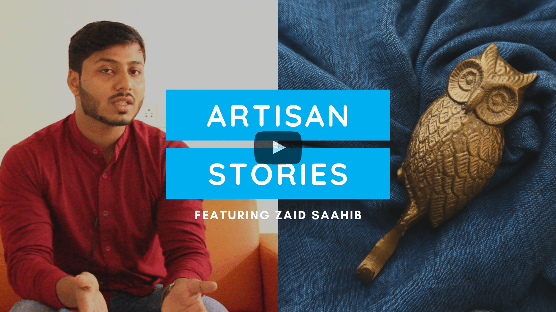 Artisan Stories by ExclusiveLane- Meet Zaid Sahib