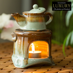 Ceramic Gas Stove Brewing Aroma Diffuser (Studio Pottery)
