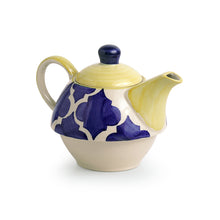 Load image into Gallery viewer, 'The Kette-Cup' Moroccan Handpainted Tea Set In Ceramic