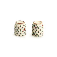 Load image into Gallery viewer, 'Daawat-e-Taj' Handcrafted Ceramic Salt & Pepper Shakers (Set of 2, 80ml)