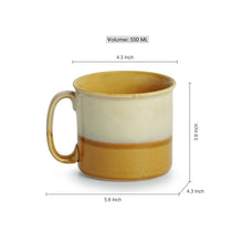 Load image into Gallery viewer, Noodle Mugs Dual Glazed Studio Pottery In Ceramic (Set Of 2)