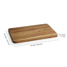 Load image into Gallery viewer, 'Rectangular Slate' Chopping Board In Acacia Wood