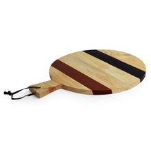 Load image into Gallery viewer, 'The Many-Hued Sphere' Multicoloured Chopping Board In Pine Wood