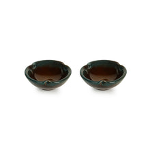 Load image into Gallery viewer, 'Amber & Teal' Chutney & Pickle Bowls In Ceramic (Set Of 4)