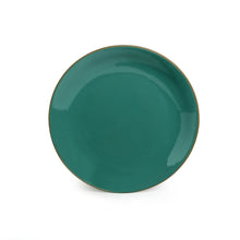 Load image into Gallery viewer, 'Earthen Turquoise' Hand Glazed Dinner Plates In Ceramic (Set of 6, Microwave Safe)