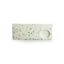 Load image into Gallery viewer, 'Bar of Radiance' Handcrafted Terrazzo Tea Light Holder In Concrete