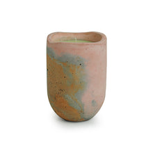 Load image into Gallery viewer, 'The Pinkish Lavender ' Scented Wax Candle In Concrete