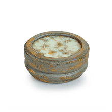 Load image into Gallery viewer, 'The Copper Leaf' Scented Wax Candle In Copper Leaf & Concrete