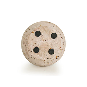 'The Pinky Poem' Scented Wax Candle In Terrazzo & Concrete