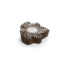 "Load image into Gallery viewer, ""Luminous Lotus"" Hand-Carved Block Tea-Light Holder"