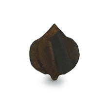 "Load image into Gallery viewer, ""Resplendent Leaf"" Hand-Carved Block Tea-Light Holder In Sheesham Wood"