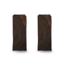 "Load image into Gallery viewer, ""Splendid Candle"" Hand-Carved Blocks Tea-Light Holders In Sheesham Wood (Set of 2)"