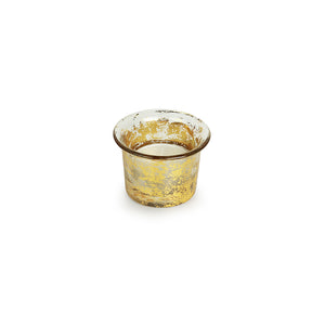 Golden Buckets Glass Tea-Light Holder (Set of 4)