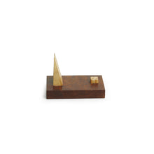 Load image into Gallery viewer, 'The Choco Stick' Mobile Stand Handcrafetd In Sheesham & Pine Wood