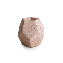Load image into Gallery viewer, 'Pattern on a Barrel' Handcrafted Terrazzo Planter In Concrete