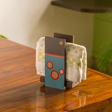 Load image into Gallery viewer, 'Oasis Rack' Hand-Painted Wooden Hand Towel Holder (Upto 2 Towels)