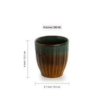 Load image into Gallery viewer, The 'Amber & Teal' Studio Pottery Bathroom Accessory In Ceramic (Set Of 3)