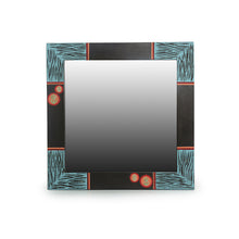Load image into Gallery viewer, 'Oasis Reflection' Hand Carved Wall Mirror In Mango Wood