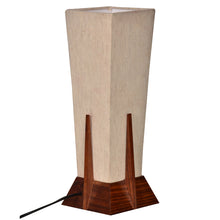 Load image into Gallery viewer, 14 Inch Pyramid Lamp In Sheesham Wood