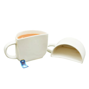 Unique Half Ceramic Cup Set
