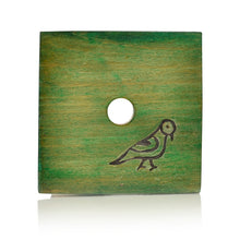 Load image into Gallery viewer, Multicolured Parrot Carving Coasters Set In Wood