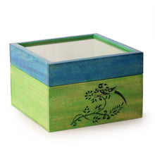 Load image into Gallery viewer, Bird Collection Wooden Tea Box cum Multi-Utility Box